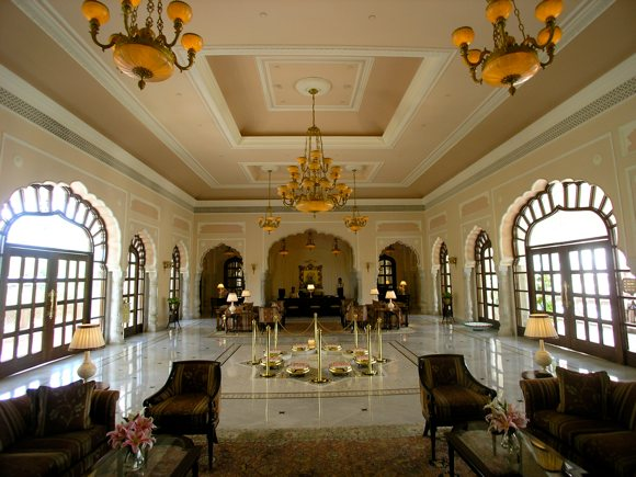 Rambagh Palace, Lobby