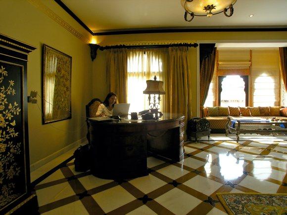 Rambagh Palace, Zimmer