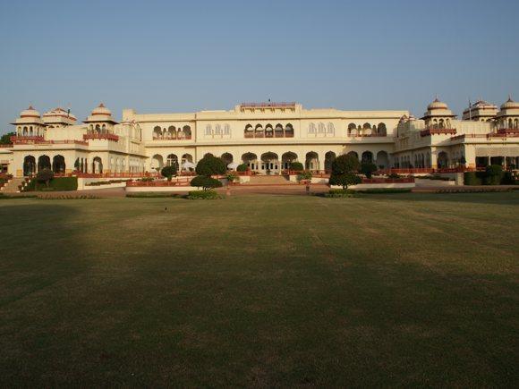 Rambagh Palace, Garten