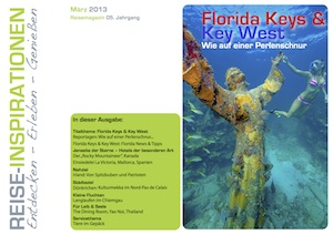 Reisemagazin März/April 2013