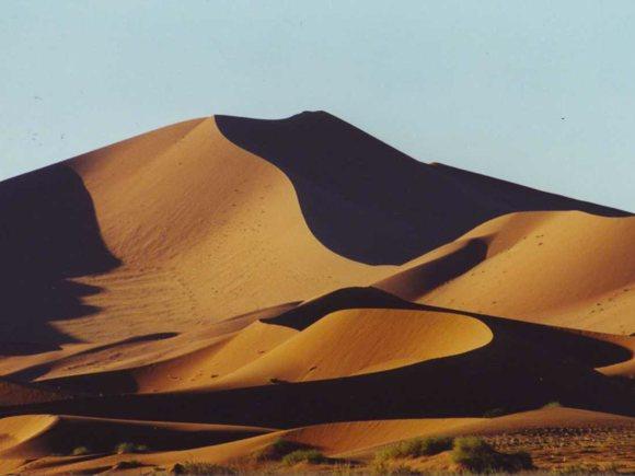 Sanddüne Sossusvle