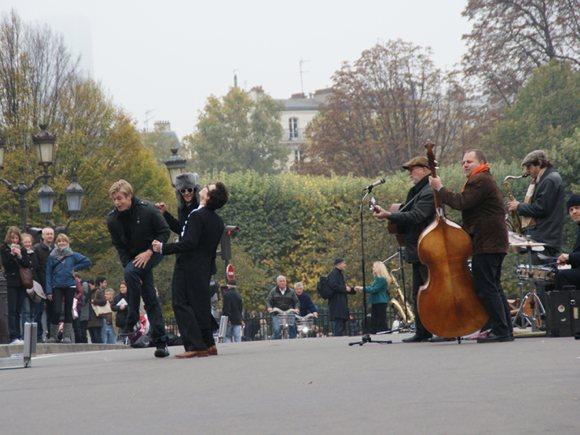 Strassenmusik Paris