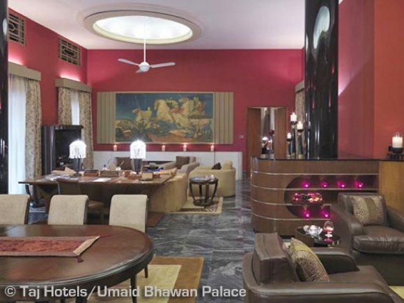 Wohnzimmer Suite Umaid Bhawan Palace