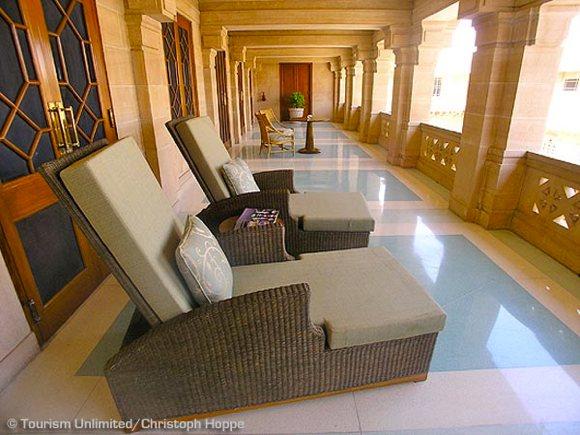 Balkon Suite Umaid Bhawan Palace