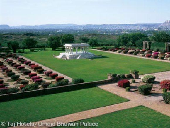 Garten Umaid Bhawan Palace