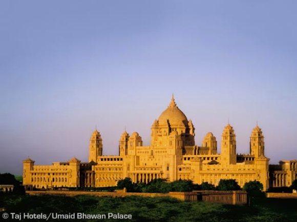 Umaid Bhawan Palace ausen