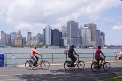 Fahrrad fahren New York