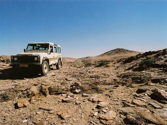 Allradfahrzeug Namibia