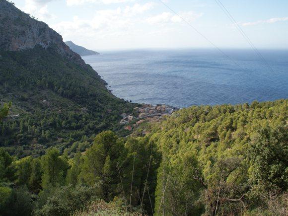 Blick auf Port Valldemossa