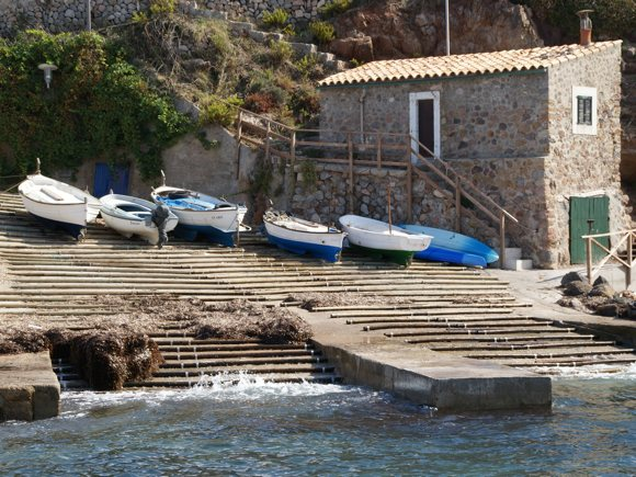 Boote in Port Valldemossa