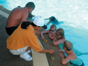 Kids Club am Pool des Hilton Hua Hin