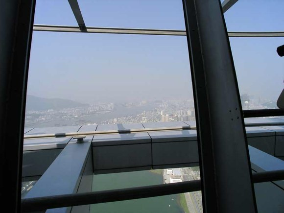 Macau Tower innen