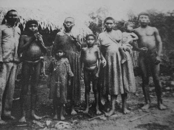 Arbeiterfamilie Amazonas
