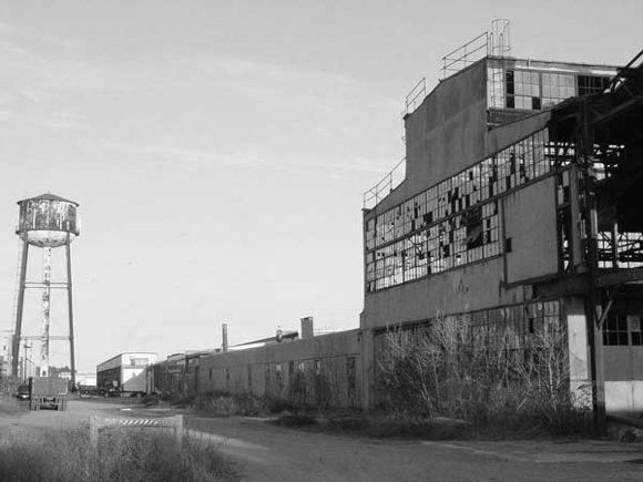 Ruinen Sägemühle Fordlandia