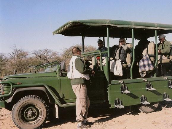 Safari Okonjima