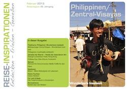 Titelbild Reisemagazin Februar 2013