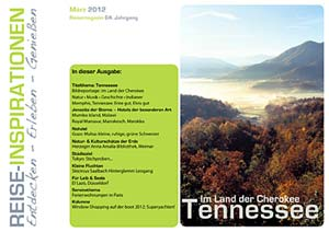 Reisemagazin USA Tennessee