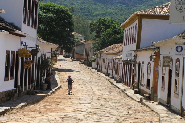Dorfstraße in Tiradentes