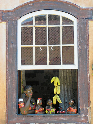 Holzfigur Tiradentes