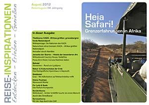 Reisemagazin August 2012