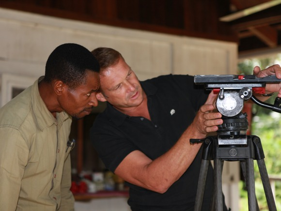 Kameratraining Tango Film Odzala Kongo