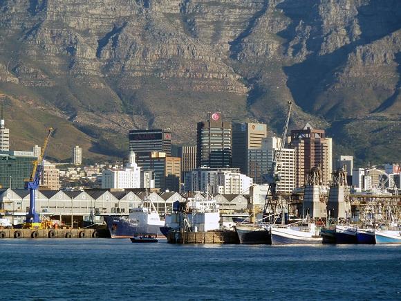 Der Hafen Kapstadts