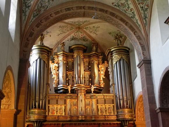 Orgel Kloster Steinfeld