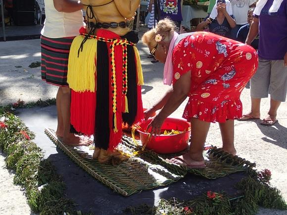 Waschung der Füße