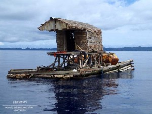 Wasserbungalow Palau