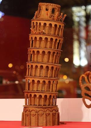 2. Lebkuchenwahnsinn_Turm von Pisa