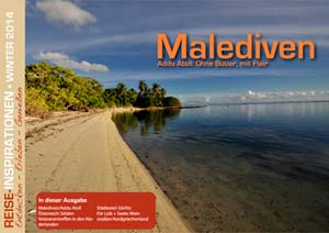 Reisemagazin Winter Malediven