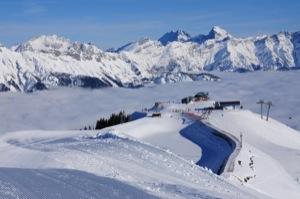 Skigebiet Saalfelden Leogang Hinterglemm