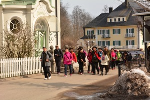 Asiatische Besucher Schloss Neuschwanstein