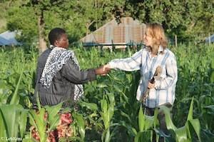 Hilfe auf dem Feld©As Friends to Kenya