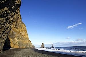 Ausflug zum schwarzen Sandstrand© Icelandair