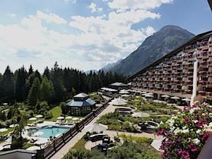 Bergblick von jedem Zimmer aus © Interalpen-Hotel Tyrol