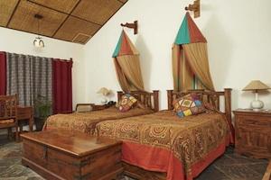 Zimmer in den Bandhav Vilas