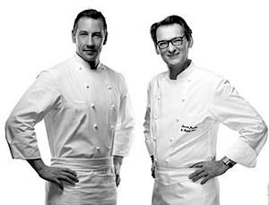 Chef Eric Desbordes & Chef Laurent Jeannin ©Balancourt