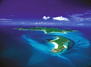 Aerial of Island ©Tourism and Events Queensland