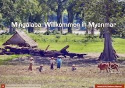 Mingalaba in  Myanmar