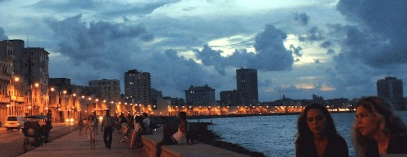 Der Malecon in Havanna