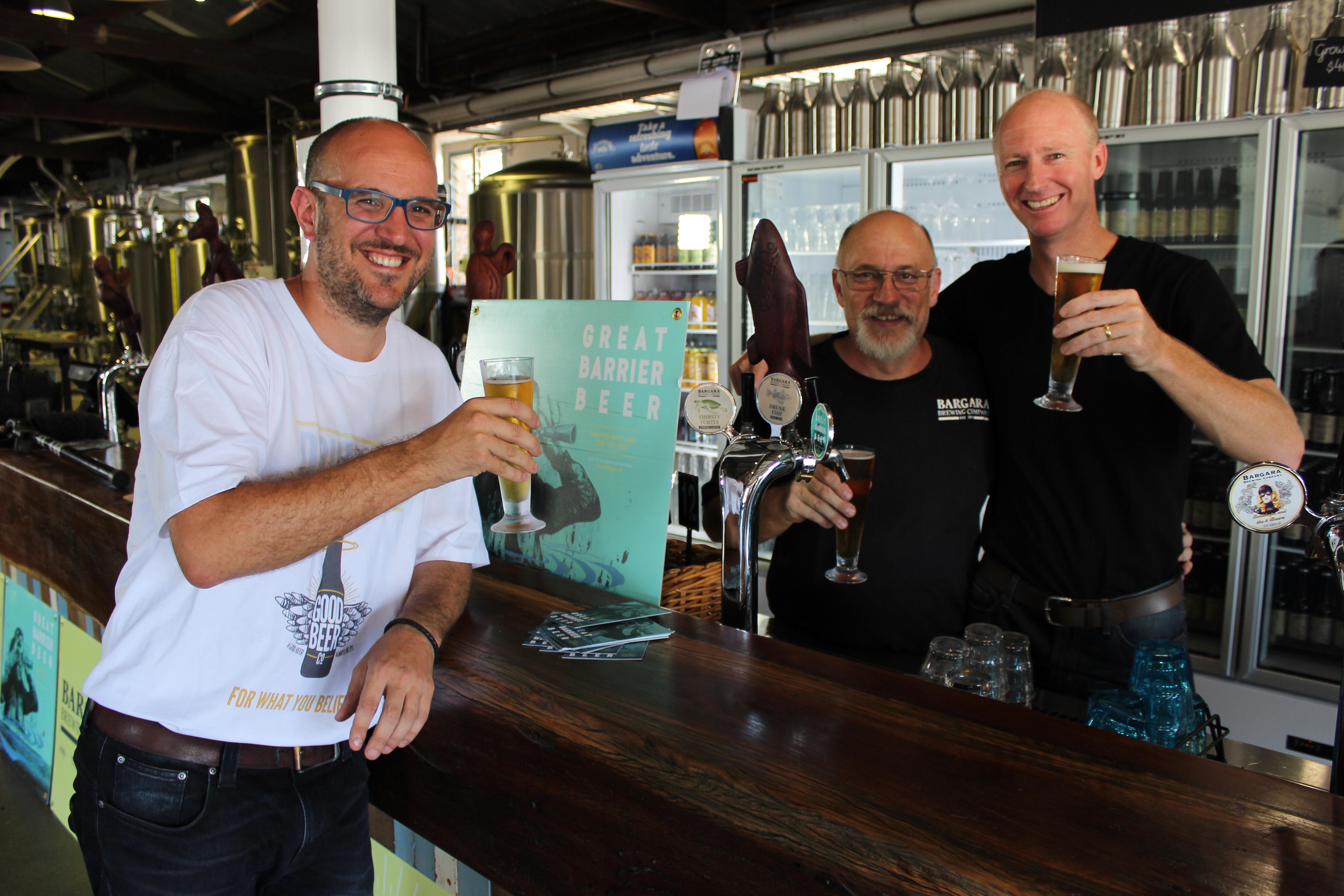 Erlöse aus dem Verkauf des Great Barrier Beers gehen in den Naturschutz.