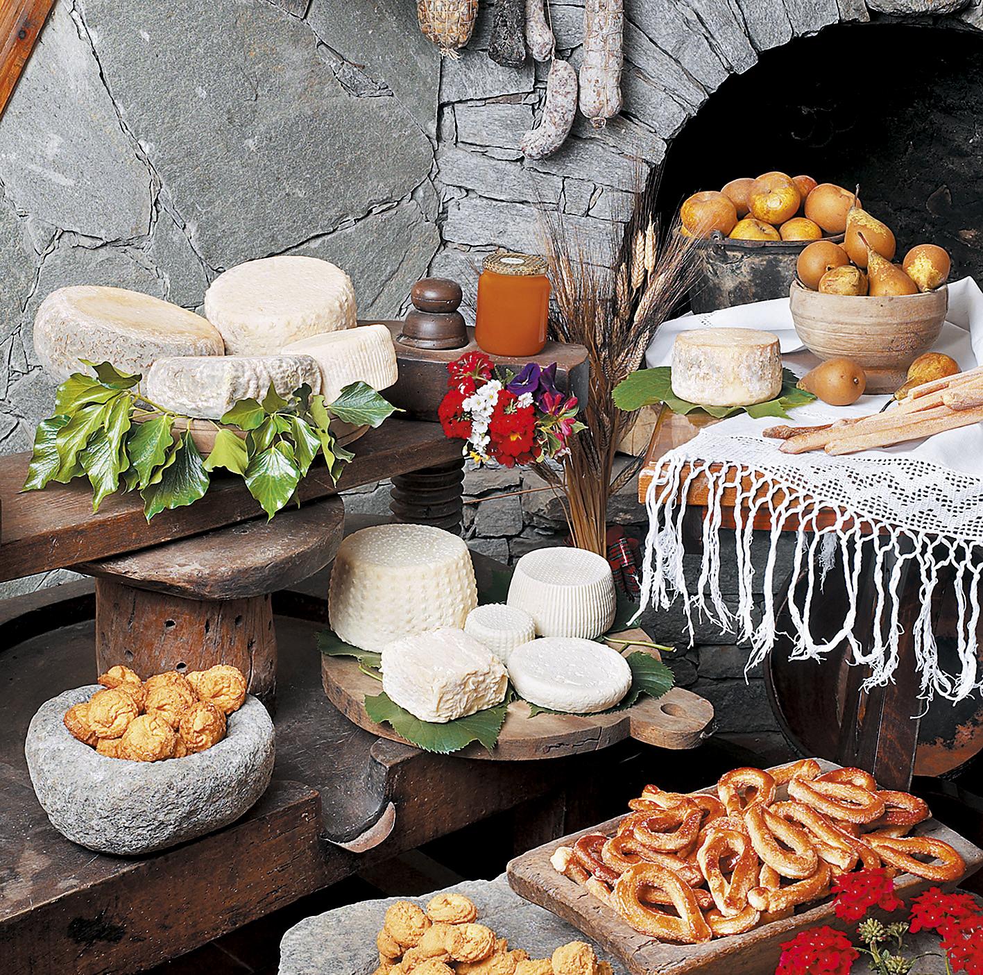 Spezialitäten aus Piemont