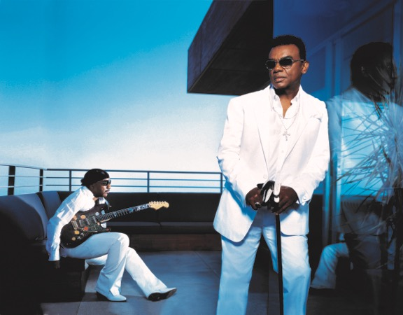 The Isley Brothers auf Aruba