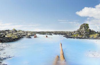 Die Blaue Lagune auf Island ist ein Ort der Erholung