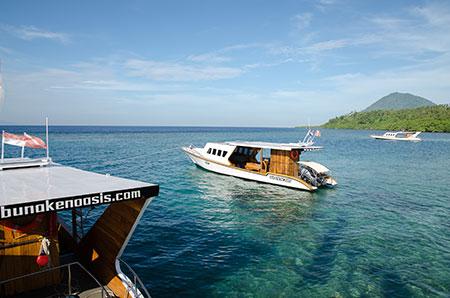 Bunaken Oasis Boote