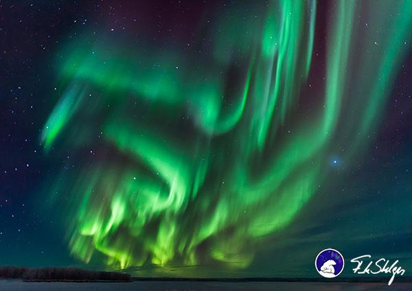 Polarlichter © Frank Stelges