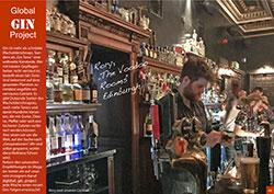 Global Gin Project: The Voodoo Rooms, Edinburg - Reisemagazin Winter 2019
