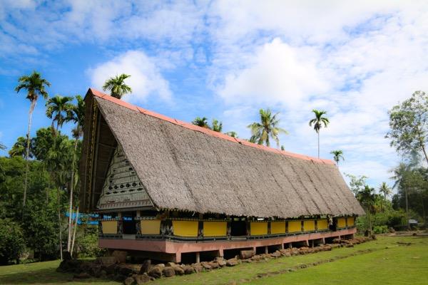 Tradtionelles Versammlungshaus Bai in Palau