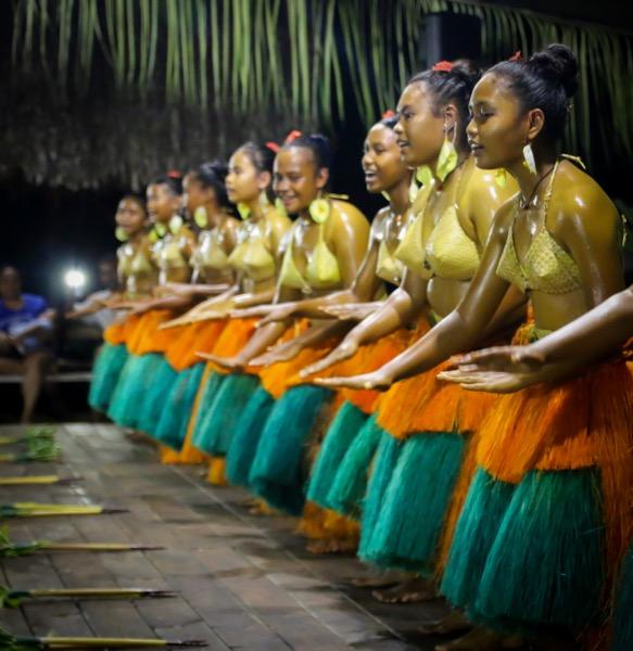 Traditionelle Tänze Palau